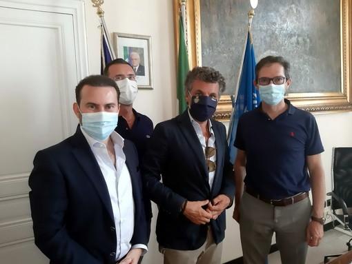 Bordighera: il sindaco Ingenito ha incontrato Carlo Bagnasco, Sindaco di Rapallo e coordinatore regionale di Forza Italia