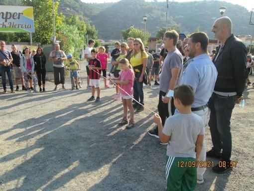 """Camporosso: con la partecipazione di circa 200 sportivi, successo per l'evento """"Bici Camminando Mangiando"""""""
