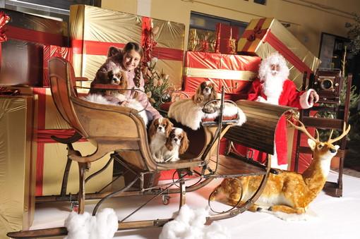 Babbo Natale arriva a Imperia e il Bacàn offre cioccolata calda e panettone a tuti i bambini!
