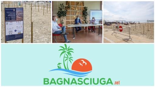 Ad Arma di Taggia arriva 'Bagnasciuga' la web app per prenotare un posto al sole sulle spiagge libere attrezzate