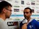 Nicola Ascoli, allenatore della Sanremese, nel post partita di coppa italia vinta ai rigori contro il Savona