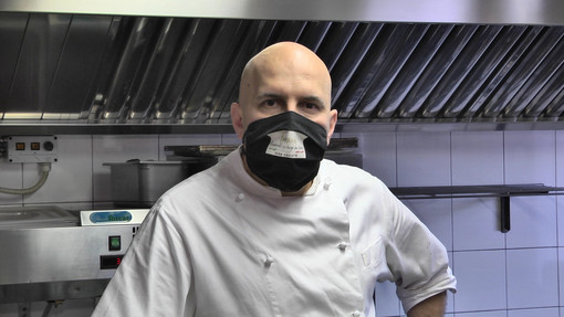 Lo chef Gianni Nicosia