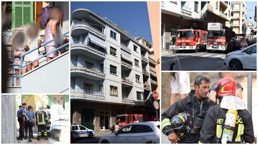 Sanremo: bambini giocano con l'accendino ed innescano incendio in casa