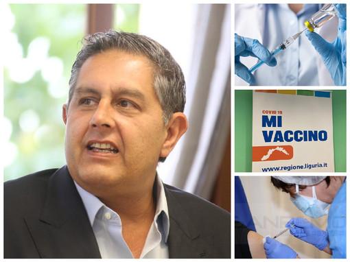 """Vaccini, in Liguria somministrate 1,5 milioni di dosi. Toti: """"La prossima settimana tre nuove open night"""""""