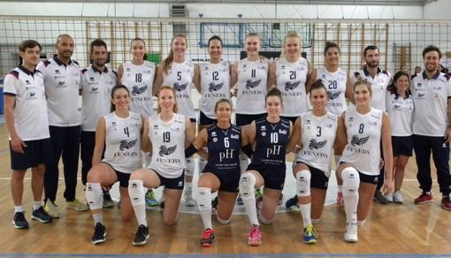 Pallavolo. Sanremo Volley Cup, grande spettacolo nei primi due appuntamento del 'Tessitore': il Chieri supera nel test match le francesi del Volero Le Cannet