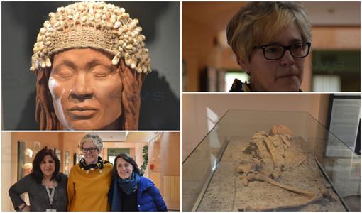 Ventimiglia: nuovo allestimento per il Museo dei Balzi Rossi con un percorso di visita dedicato alla 'Donna del Caviglione' (Foto e Video)