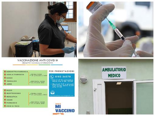 Imperia, Asl 1 chiama e la valle Arroscia risponde, buoni i risultati ottenuti con il camper vaccinale in tour: