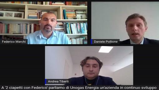 """Unogas Energia ospite a '2 ciapetti con Federico' tra analisi di mercato e avvertimenti: """"Attenzione ai comportamenti scorretti"""""""