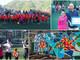 Calcio. Paese in festa per il nuovo murales della ASD Badalucco 2009 e Nicholas Deplano primo allenatore della Valle Argentina (FOTO e VIDEO)