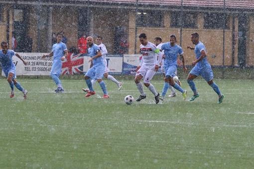 Calcio, Serie D. Pari all'esordio in campionato per la Sanremese: vantaggio su autorete poi la Caronnese risponde nella ripresa