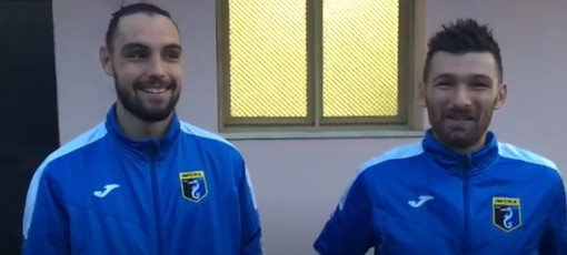 """Calcio, Imperia. Sancinito e Donaggio regolano il Varese. """"Festeggeremo in autogrill... il nostro spirito di gruppo è stato fondamentale"""" (VIDEO)"""