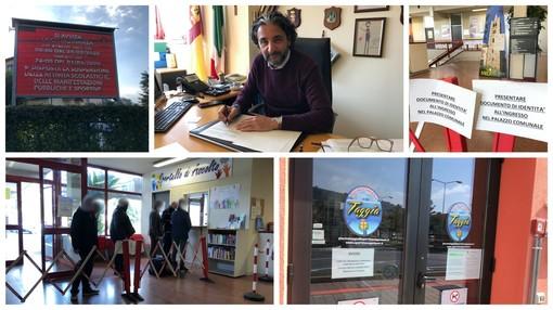 Emergenza Coronavirus: le misure adottate dal Comune di Taggia, il sindaco Conio firma nuova ordinanza per riaprire impianti sportivi e palestre
