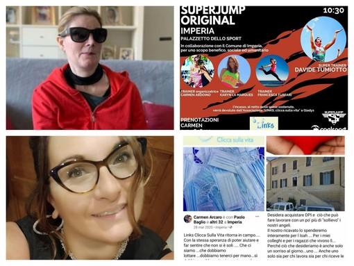 Il cuore di un'associazione imperiese in soccorso di Gledis, la donna di Alassio che ha bisogno di un intervento urgente e costoso in Germania