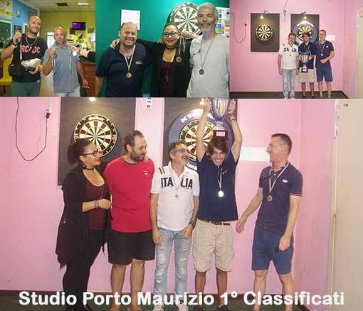 Freccette: Immobiliare Studio Porto Maurizio vince la prima edizione della Champions Liguria