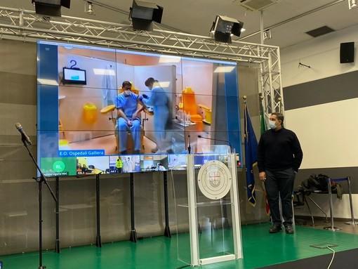"""Coronavirus: Toti """"Probabile ritorno della Liguria in zona gialla subito dopo le feste. Siamo in area di rischio moderato"""" (Foto e video)"""
