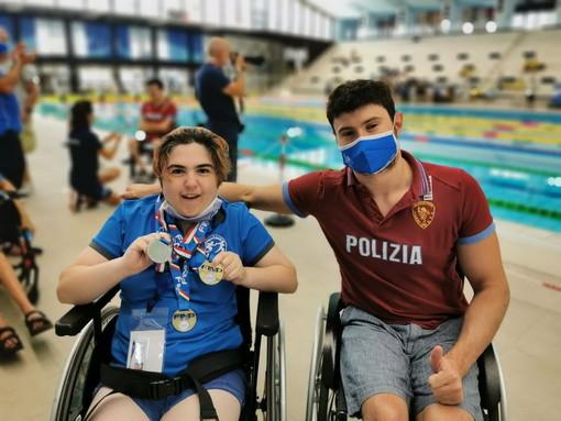 Ai Campionati Italiani Assoluti di Nuoto Paralimpico, ottimi risultati per la giovane nuotatrice sanremese Giorgia Amodeo