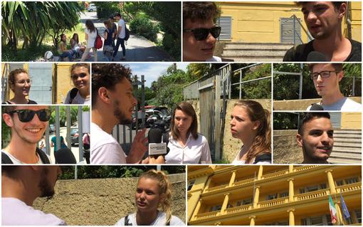 Sanremo: Maturità 2018, la voce degli studenti dopo la prima prova tra ottimismo, voglia di vacanza e prospettive per il futuro (Video)