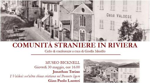 Bordighera: Jonathan Terino e Gian Paolo Lanteri al Museo Bicknell per un incontro sulle comunità valdesi nel Ponente Ligure