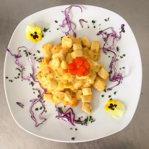 La Zucca di Rocchetta di Cengio protagonista fino a domenica del menù del Carrettino di Tortona (AL)