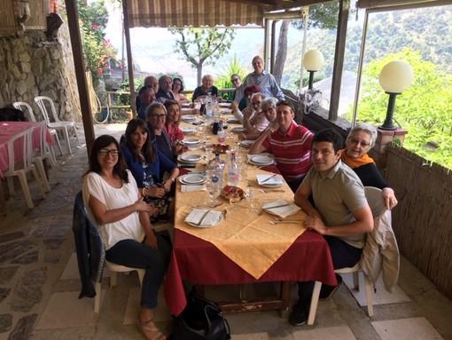 Alla Mortola, pranzo di fine anno dei docenti del Liceo Cassini di Sanremo (foto)