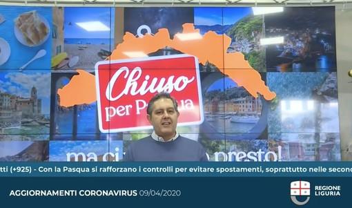 """Coronavirus, la Liguria si blinda, """"E' chiuso per Pasqua"""" ai turisti. Il messaggio del governatore e dei sindaci"""" (foto e video)"""