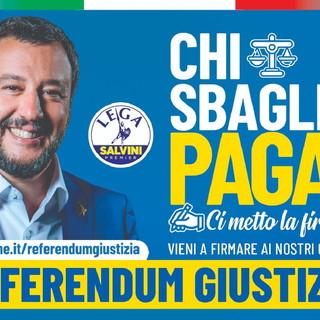 Domani in provincia di Imperia riprende la raccolta firme per la campagna referendaria sulla Giustizia della Lega