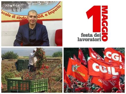 """1 maggio 2021: festa dei lavoratori senza le piazze piene e senza bandiere. Fellegara (Cgil): """"In provincia di Imperia aumentano gli inattivi e i giovani che abbandonano gli studi"""" (video)"""