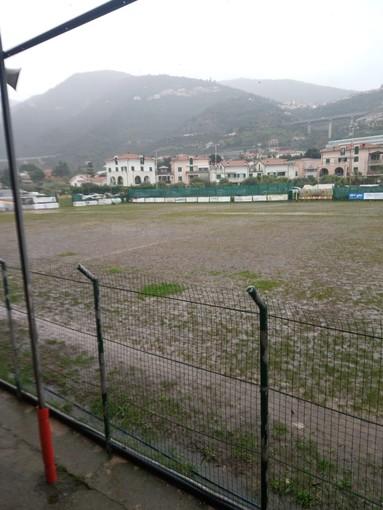 Calcio, Promozione. Vince la pioggia, rinviata anche Taggia-Serra Riccò