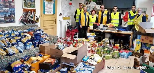 Sanremo: 8 quintali di cibo per i poveri, grande successo per la colletta alimentare cittadina organizzata dai Lions