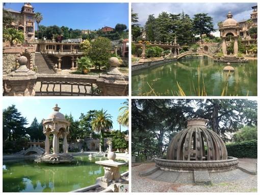 Imperia, il Comune investe 150 mila euro per riportare all'antico splendore le fontane e giochi d'acqua a Villa Grock