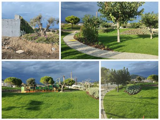 Imperia: nuova area verde al Parco urbano, entro novembre l'inaugurazione (Foto)
