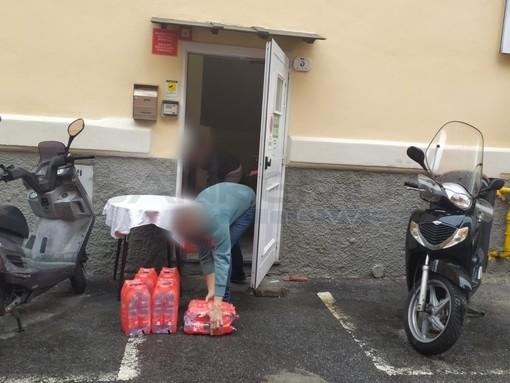 Emergenza coronavirus a Diano Marina: consegnati pasti caldi alle persone confinate nell'Hotel Paradiso
