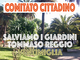 Ventimiglia: è nato un Comitato contro l'abbattimento degli alberi del Giardino Tommaso Reggio, dura lettera contro il sindaco