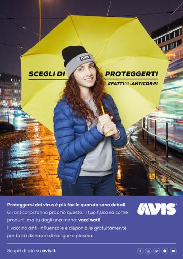 Parte la campagna Avis Liguria per la vaccinazione anti-influenzale per i donatori di sangue