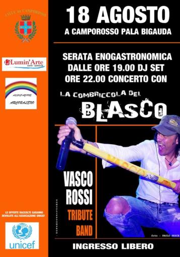 Camporosso: questa sera torna al Palabigauda 'La Combriccola del Blasco'