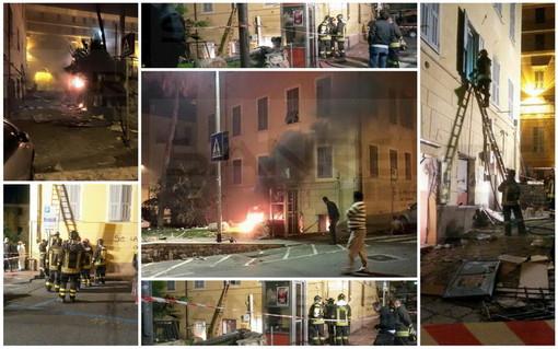 Imperia: esplosione della sala scommesse di via del Collegio, esce dal carcere Ippolito Trifilio
