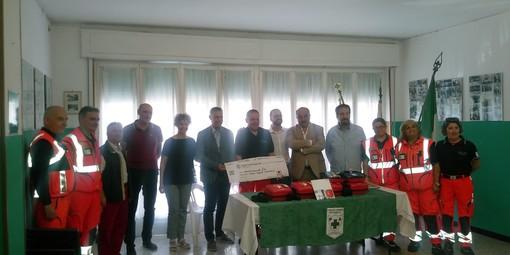 Ventimiglia: la fondazione Casartelli Perraro dona alcuni defibrillatori alla Croce Verde Intemelia