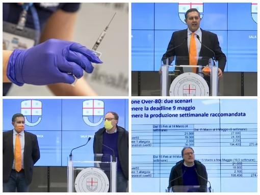 """Vaccino anti-covid, Toti fa chiarezza sulle date: """"L'invio delle dosi dipende da Roma. Entro fine maggio completeremo il piano per gli over 80, nessuno rimarrà senza"""""""