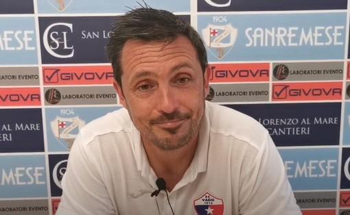 """Calcio, Vado. A Sanremo arriva la prima sconfitta per Matteo Solari: """"Quando si crea bisogna concretizzare. Favara terzino? Scelta obbligata"""" (VIDEO)"""