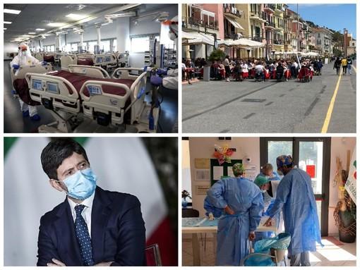 """Il Covid-19 """"molla la presa"""" in provincia di Imperia, ma il dato contagi-popolazione è il più alto in Liguria: 6,785%"""