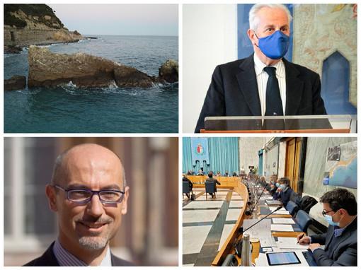 Imperia, dopo il 'caso mascherine' giovedì si riunisce il consiglio comunale: Scajola riferirà anche sul progetto dell'allevamento ittico alla Galeazza