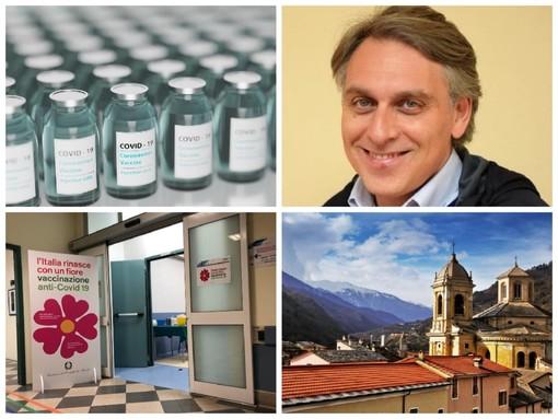 Pieve di Teco: scattano stamattina all'Auditorium 'Rambaldi' le vaccinazioni degli over 80 in Valle Arroscia