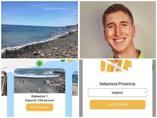 Imperia, l'app 'SpiaggiaTi' funziona. Solo nell'ultimo weekend oltre 7 mila le visualizzazioni. La Galeazza è la più cliccata