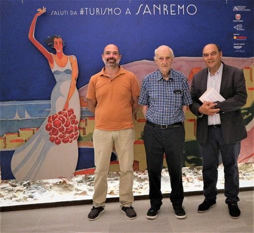Alberto Parodi, Alfredo Moreschi e Claudio Porchia al termine della conferenza