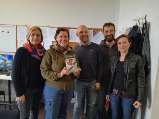 Il tour letterario di Marco Vallarino è approdato all'istituto agrario Aicardi di Sanremo