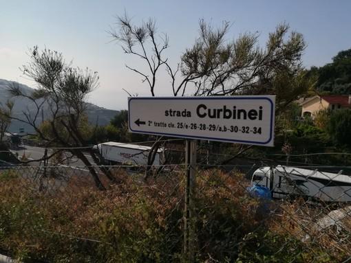 Sanremo, un nostro lettore ringrazia il Comune per il cartello in strada Curbinei