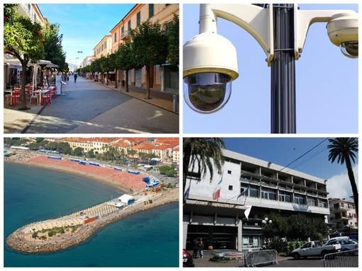 Diano Marina punta sulla sicurezza: varato l'appalto per la videosorveglianza cittadina. Il Comune investe oltre 210 mila euro