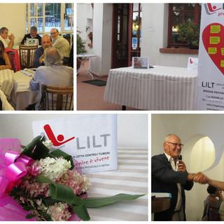 Sanremo, giovedì la serata conviviale e i ringraziamenti ai volontari LILT, sempre attivi nonostante la pandemia (foto)
