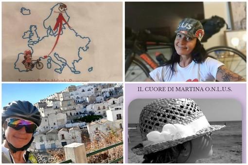 In bici da Imperia alla Lapponia per aiutare i bambini e 'Il cuore di Martina': il 29 luglio inizia la nuova sfida solidale di Natalie Allegra