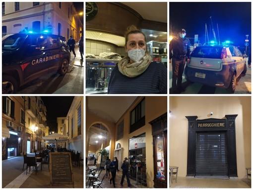 Imperia, flop di #Ioapro: baristi e ristoratori non aderiscono all'iniziativa di protesta (Foto e video)